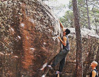 Entrenamiento complejo para ganar fuerza en Escalada